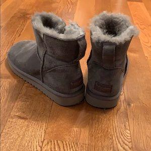 Koolaburra by Ugg Gray Mini Boots Women Size 9
